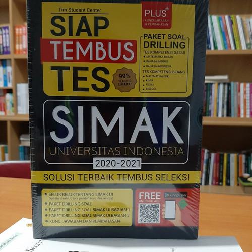 Foto Produk BUKU SIAP TEMBUS TES SIMAK UI 2020-2021 dari sanjaya_books