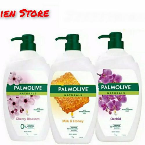 Foto Produk PALMOLIVE Naturals (Milk & Honey) (Cherry Blossom) (Orchid) - Orchid dari Alien_store11