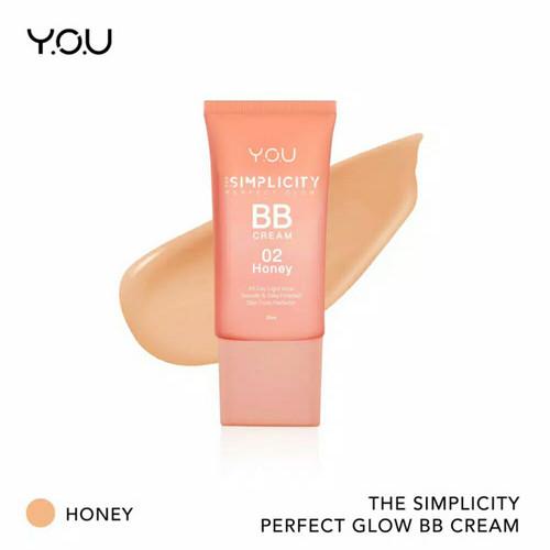 Foto Produk YOU BB CREAM - The Simplicity Perfect Glow BB Cream by YOU Makeups - 02. Honey dari k4shopmk