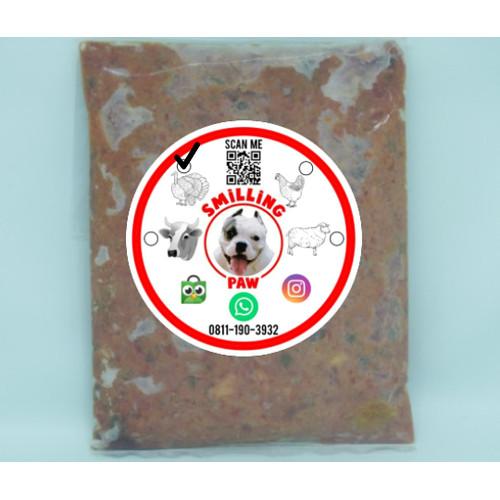 Foto Produk Raw Food Mix Turkey dari Smilling Paw