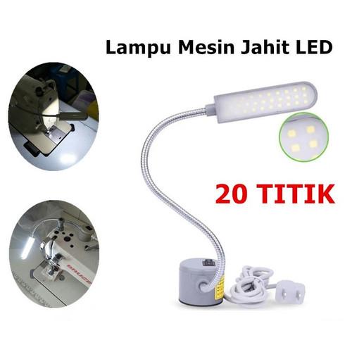 Foto Produk Lampu Mesin Jahit LED 20 Titik magnet (PAKAI COLOKAN) - 20 TITIK dari Yuan Mart