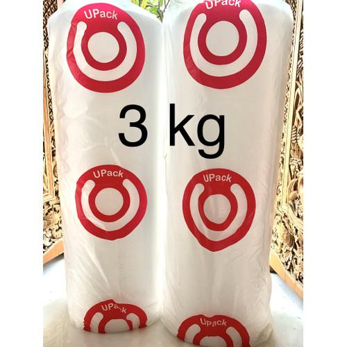 Foto Produk BUBBLE WRAP MURAH, BAGUS & TEBAL merk U PACK 1,25 MTR x 50 MTR - 3 KG dari TOP LAKBAN