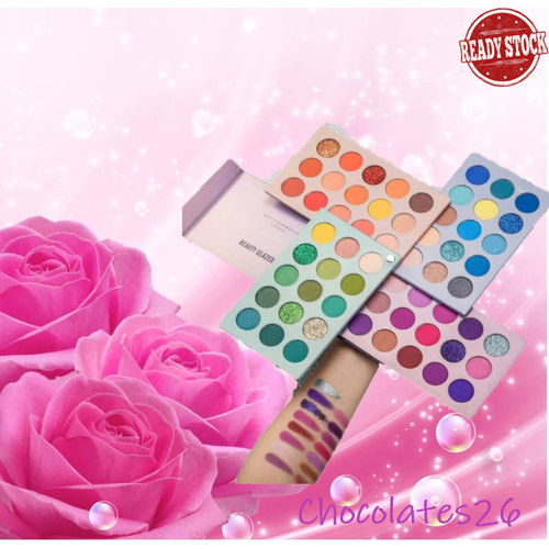 Foto Produk Beauty Glazed Color Board 60 warna eyeshadow palette dari Jojosolshop