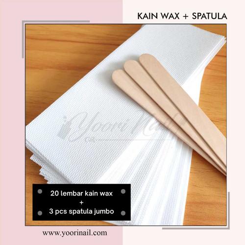 Foto Produk Sugar wax set original sugar waxing set paket sugar wax - 20 kain+3 sptl dari Yoori Nail