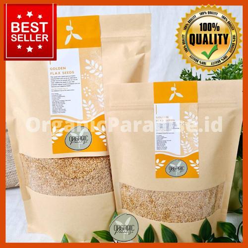 Foto Produk Golden Flaxseed Organic Paradise 1 KG PREMIUM QUALITY dari ORGANICPARADISE