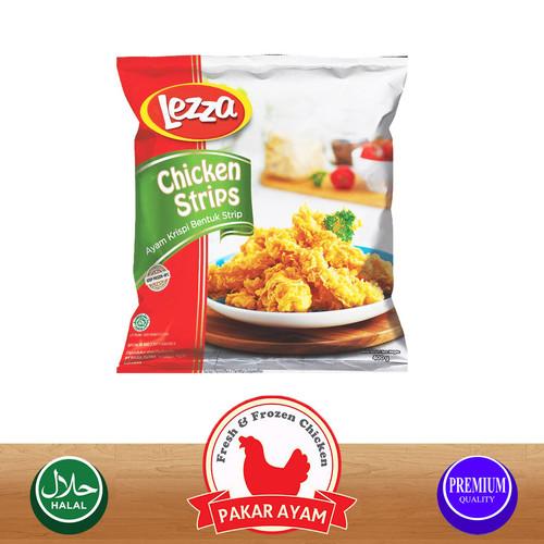 Foto Produk LEZZA CHICKEN STRIPS KEMASAN PREMIUM HIGH QUALITY dari Pakar Ayam