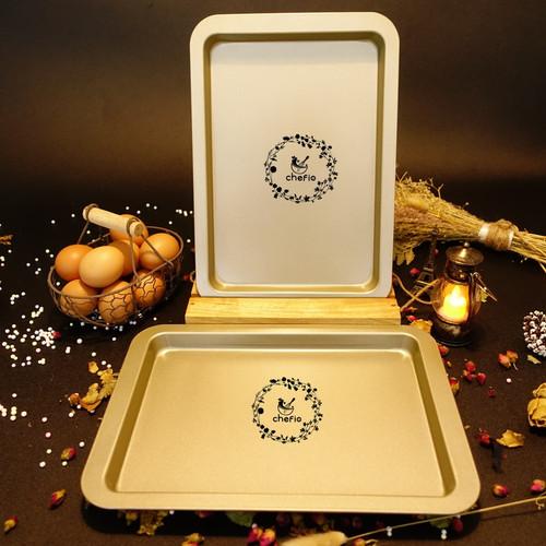 Foto Produk Loyang Persegi Panjang 33cm / Baking Tray / Loyang Kue Kering / Nampan dari Chefio