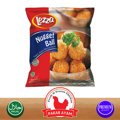 Foto Produk LEZZA NUGGET BALLS KEMASAN PREMIUM HIGH QUALITY dari Pakar Ayam