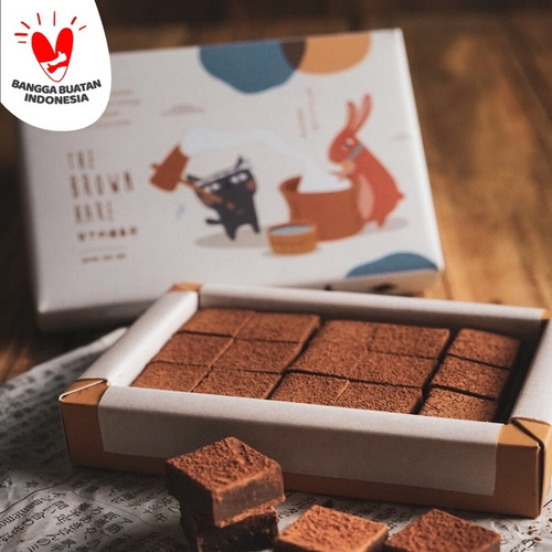 Foto Produk Small Chocolate The Brown Hare - Milk dari The Hoppers