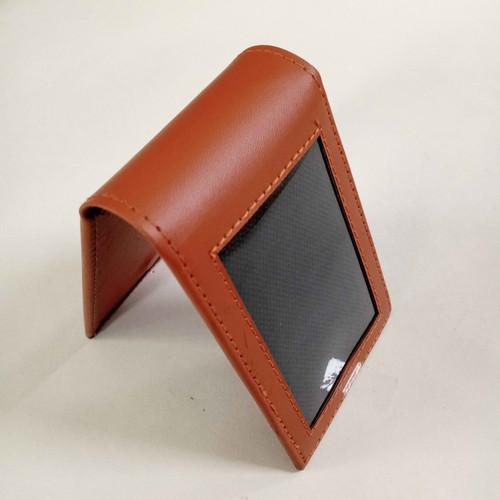 Foto Produk Dompet id card magnet / Name Tag Saku / Holder id Card magnet - Cokelat dari Gandas99