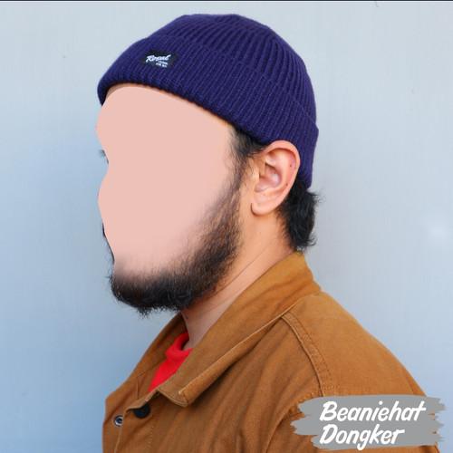 Foto Produk ROSAL Peci Topi BeanieHat Pria - Dongker dari MpokAlice