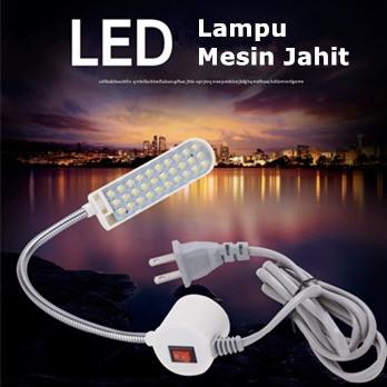 Foto Produk Lampu Mesin Jahit LED 20 Titik magnet (PAKAI COLOKAN) - 20 TITIK dari Alimajur store