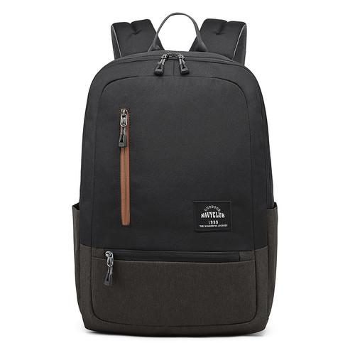 Foto Produk NavyClub Tas Ransel TasUnisex Waterproof HFGI Backpack Up To 15.6 Inch - Hitam dari Navy Club Official Store