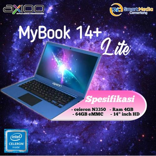 "Foto Produk Laptop AXIOO Mybook 14+ lite|INTEL N3350|4GB|EMMC 64GB|14"" Inch dari Smart Media Computer"