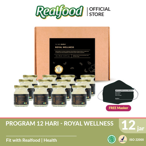 Foto Produk Realfood Royal Wellness Free Masker dari Realfood
