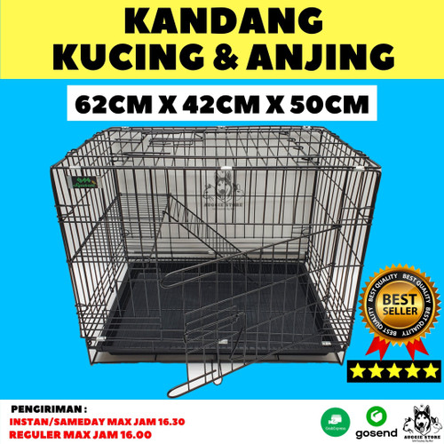 Foto Produk Kandang Kucing & Anjing size M (62x42x50cm) - RANDOM dari AuggieStore