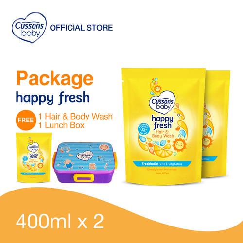 Foto Produk Cussons Baby Happy Fresh Pack - Beli 2 GRATIS 1 dari Cussons Official Store