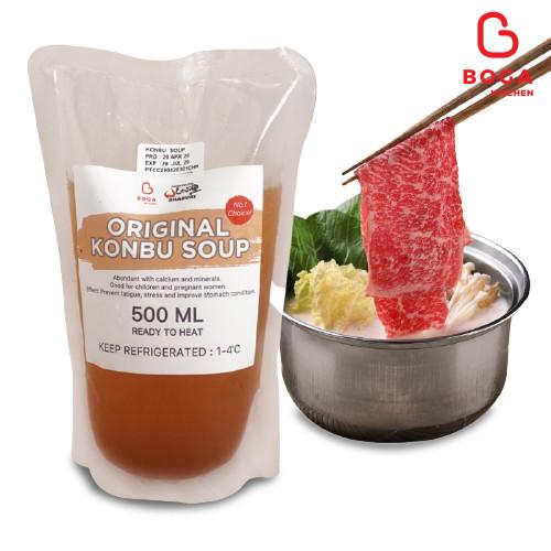 Foto Produk SHABURI Original Konbu Soup 500 mL | No.1 Choice! dari Boga Kitchen Jkt-Pusat