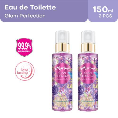 Foto Produk Marina Eau De Toilette - Glam Perfection [150 mL / 2 pcs] dari Tempo Store Official