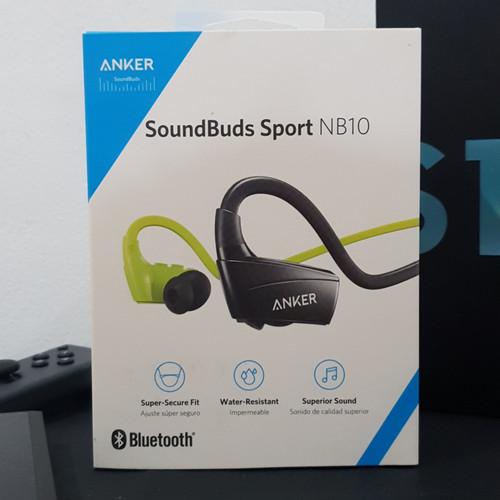 Foto Produk ORIGINAL Anker Soundbuds Sport NB10 Bluetooth Wireless Earphone HIJAU dari Global Roxy