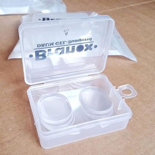 Foto Produk Branox BR6-CR - Clear Drum Gel Damper 6pcs dari FrankieDrumShop