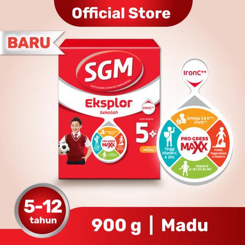 Foto Produk SGM Eksplor 5 Plus Susu Pertumbuhan 5-12 Thn Madu 900g dari SGM Official Store