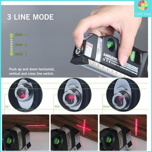 Foto Produk Fixit Level Pro 3 Penggaris Laser Waterpass Meteran Laser 250 Cm. dari gapura tools