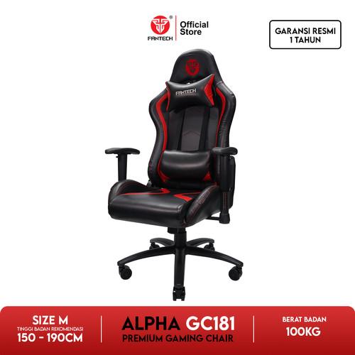 Foto Produk Fantech Gaming Chair GC-181 - Merah dari Fantech Official Store
