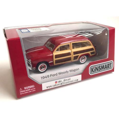 Foto Produk Diecast Kinsmart Mainan Mobil Pajangan - 1949 FORD WOODY dari ciustoys