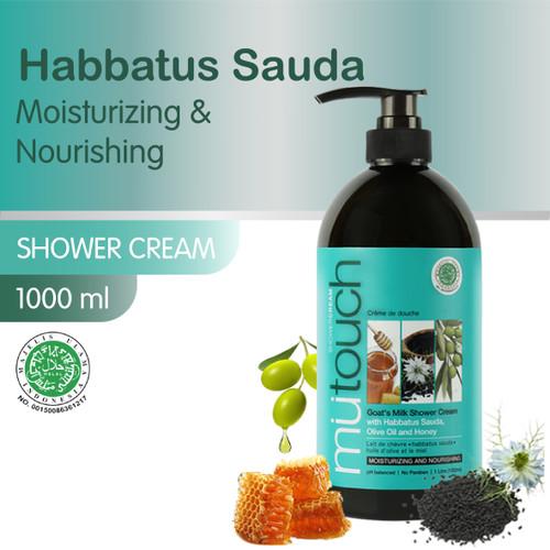 Foto Produk Mutouch Goat's Milk Shower Cream with Habbatus Sauda 1000ML dari Era Official Store