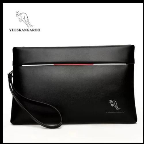 Foto Produk Tas Tangan Pria Wanita POLO Dompet Tangan Clutch Bag/Handbag - Hitam dari variannet