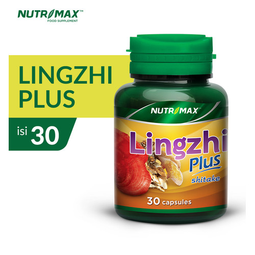 Foto Produk NUTRIMAX LINGZHI PLUS 30 NATURECAPS dari Nutrimax Official Store