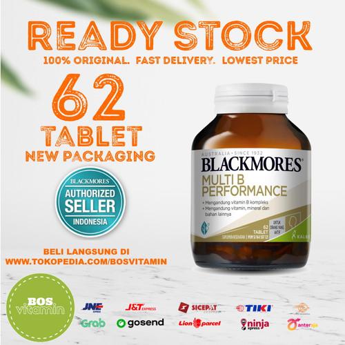 Foto Produk Blackmores Executive B Stress Formula BPOM Kalbe - 62 Tablet dari Bos Vitamin