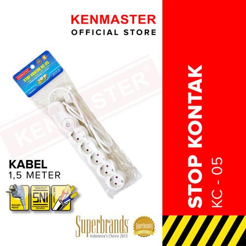 Foto Produk Kenmaster Stop Kontak KC - 05 KM (KTG POLY BAG) dari Kenmaster Official
