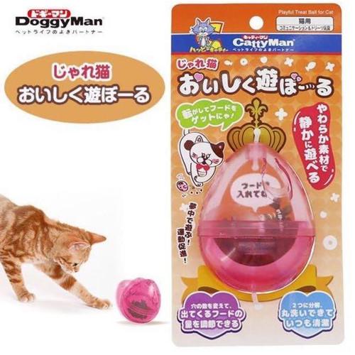 Foto Produk CattyMan 84354 Playful Treat Ball for Cat Mainan Bola Snack Kucing dari Hime petshop
