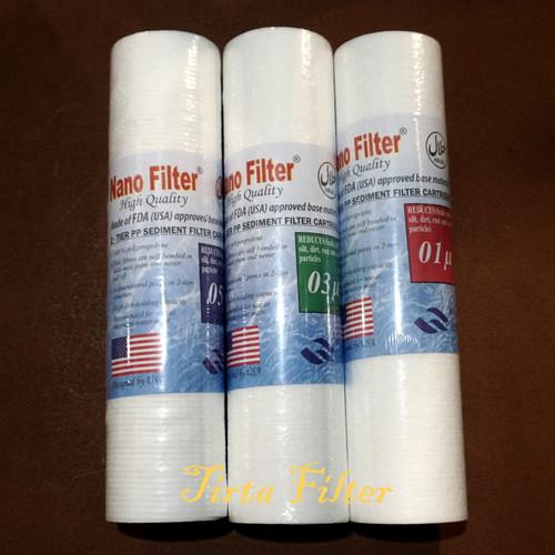 """Foto Produk Cartridge filter air Nano 10"""" - 10 dari Tirta Filter"""