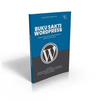 Foto Produk Buku Sakti WordPress dari Jejak Publisher