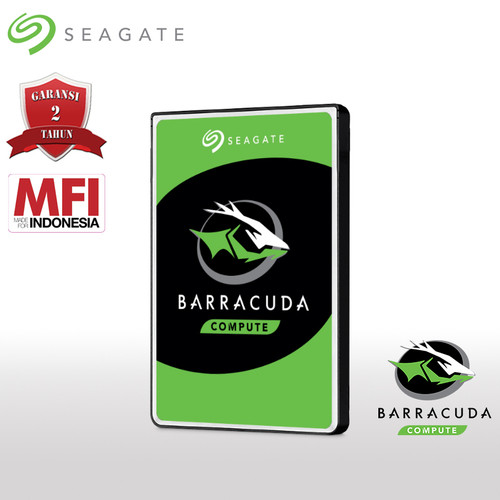Foto Produk Seagate BarraCuda Harddisk Internal Laptop 2TB SATA dari Seagate Official Store