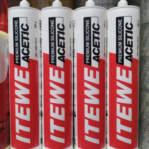 Foto Produk Lem Kaca Premium Silicone Acetic Glue Aluminium Glass Ceramic Plastics dari Toko Income