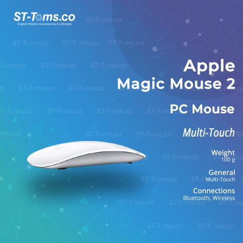 Foto Produk Apple Magic Mouse 2 (MLA02ID/A) dari ST-Toms.co