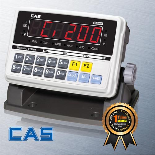Foto Produk Indicator Timbangan Digital CAS CI-200A dari Shasa Scale