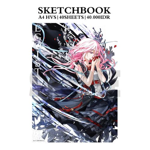 Foto Produk A5 size Sketchbook: EGOIST dari Mimi N - FutarinoKizuna
