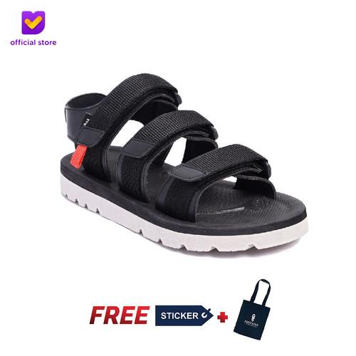 Foto Produk Sandal Outdoor Pria Footstep Footwear - Sandal Crown 0.2 Black - Hitam, 39 dari Footstep Footwear