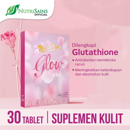 Foto Produk Nourish Skin Glow 30 Tablet dari Nutrisains Official