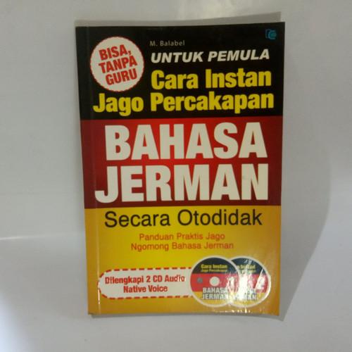 Foto Produk buku kamus- Cara instan Jago percakapan bahasa Jerman dari Gema Pustaka Indonesia