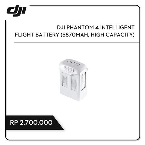 Foto Produk DJI Phantom 4 Intelligent Flight Battery (5870mAh, High Capacity) dari DJI Authorized Store JKT