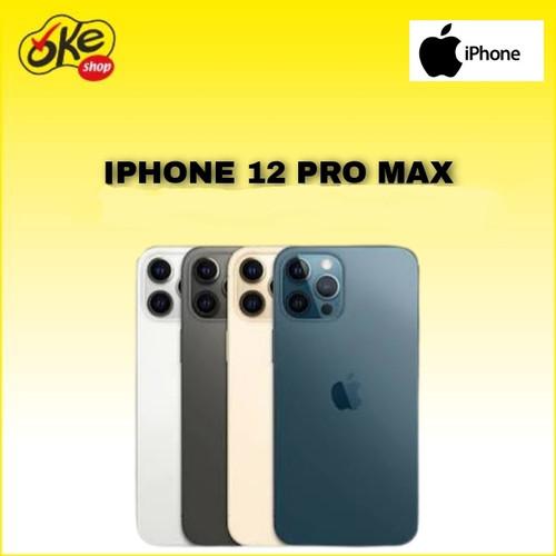 Foto Produk Iphone 12 Pro Max Smartphone 128GB - Graphite dari OKESHOP