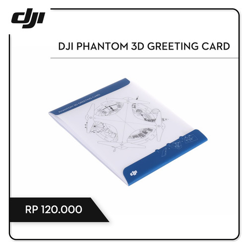 Foto Produk DJI Phantom 3D Greeting Card dari DJI Authorized Store JKT