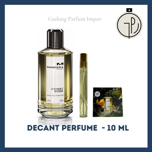 Foto Produk Decant Mancera Cedrat Boise for Unisex EDP - 5 ml dari Gudang Parfum Impor