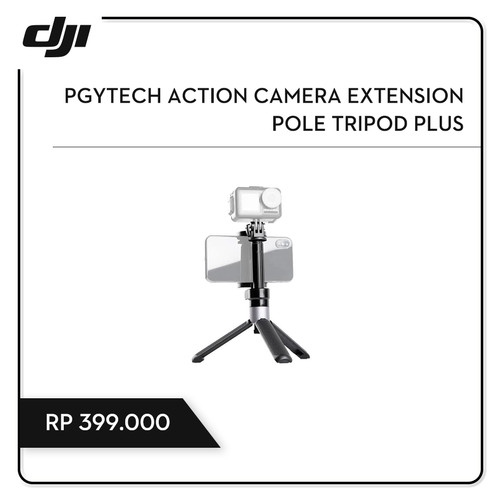 Foto Produk PGYTECH Action Camera Extension Pole Tripod Plus dari DJI Authorized Store JKT